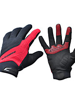 Activity/ Sports Gloves Cycling/Bike Unisex Full-finger Gloves Anti-skidding BlackS / M