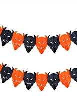 Halloween Supplies Festival Supply  Decorations Skull Garland Length 3m