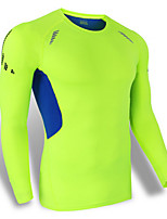 Sports Bike/Cycling Tops Men's Long Sleeve Breathable / Quick Dry / Dust Proof / Windproof / Comfortable