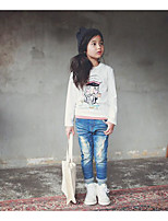 Girl's Casual/Daily Solid BlousePolyester Spring / Fall White