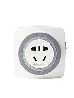 BULL Intelligent Timer Socket 24 Hours Mechanical High Power 16a GND-2D