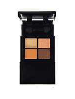 4 Eyeshadow Palette Dry Eyeshadow palette Powder Normal Daily Makeup A02