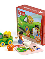 Building Blocks For Gift  Building Blocks Circular / Square / Car Plastic Above 3 Rainbow Toys