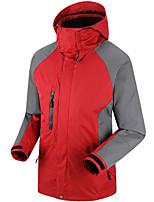 Wandern Softshell Jacken Herrn Wasserdicht / Atmungsaktiv / warm halten / Windundurchlässig / tragbar / SchweißableitendFrühling / Herbst