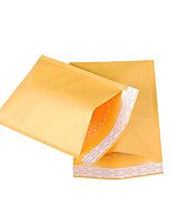 Four 38Cm * 50Cm  4Cm Yellow Kraft Bubble Bags Per Pack