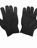 черные профессиональные защитные порезостойкие перчатки