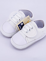 Unisex Flats Spring Fall Flats Canvas Casual Flat Heel Others Green White Others