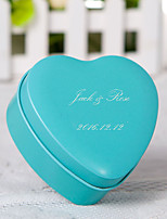24 Piece/Set Favor Holder-Heart-shaped Metal Favor Boxes Personalized