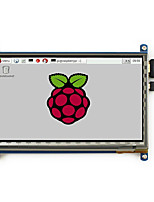 7inch HDMI LCD 800×480 Capacitive Touch Screen LCD for Raspberry Pi 2 pcDuino Video Photo Module