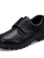 Черный-Для девочек-На каждый день-Кожа-На плоской подошве-С круглым носком-На плокой подошве