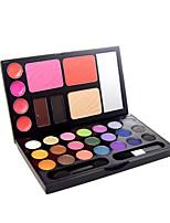21 Eyeshadow Palette Dry Eyeshadow palette Powder Normal Daily Makeup/1#/2#