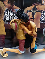 One Piece Monkey D. Luffy PVC 14CM Figures Anime Action Jouets modèle Doll Toy