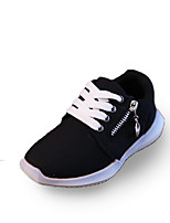 Boy's Flats Summer Comfort / Round Toe Tulle Casual Flat Heel Others / Lace-up Black / Blue Others