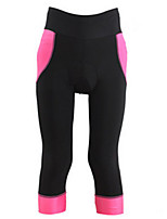 Sport Fahrrad 3/4 Hosen Damen Rasche Trocknung / tragbar / Komfortabel / Sonnenschutz Fahhrad Shorts/Laufshorts Terylen / Coolmax