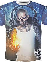 New Fashion Men Suicide Squad Neck Short Sleeve Men 3d T-shirt