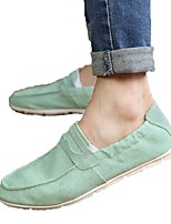 Men's Loafers & Slip-Ons Spring / Summer / Fall / Winter Round Toe / Flats PU Outdoor / Office & Career
