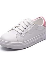 Unisex-Sneaker-Sportlich-Mikrofaser-Flacher Absatz-Flache Schuhe-Schwarz / Blau / Rosa