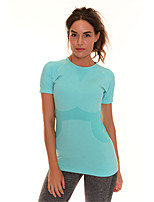 Women's Slim Comfortable Short Sleeve T-shirt Quick Dry Fitness Sports Tops