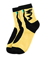 Sports Bike/Cycling Socks Unisex Sleeveless Breathable / Sweat-wicking Cotton Floral / Botanical Yellow