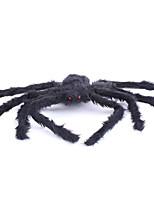 Halloween Props Spider Festival/Holiday Halloween Costumes Black Solid More Accessories Halloween Unisex Velvet