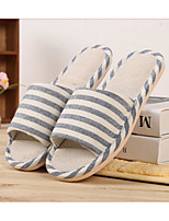 Синий / Желтый / Красный / Хаки-Унисекс-На каждый день-Хлопок-На плоской подошве-Удобная обувь-Тапочки и Шлепанцы