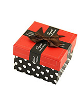 Four Red 9*8.9*6CM Packing Boxes Per Pack