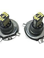 2PCS 40W Elantra LED Headlight Lights H4 Auto H4 LED Headlamp H4 Low Beam LED Headlight Kit