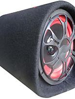 10-дюймовый туннельного типа круговой 12v24v220v автомобиль автомобильный сабвуфер усилитель активный динамик тонкий