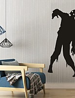AYA DIY Wall Stickers Wall Decals Halloween Decoration Ghost Type PVC Panel Wall Stickers  42*92cm