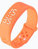 Multifunction Smart Bracelet LED Watch 3D Pedometer Calorie Sleep Monitoring Body Temperature