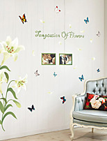 Wall Stickers Wall Decals Yuri Birds Feature Removable Washable PVC