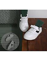 Белый-Для мальчиков-Для прогулок-Кожа-На плоской подошве-Туфли Мери-Джейн-На плокой подошве