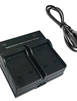 50b batería de la cámara de doble cargador digital para Olympus Li-50b li-90b xz1 sp720 sp810 sz14 SZ20 sz31 tg-1 2 3 4 1 2-sh