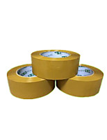 6.0Cm * 2.5Cm Yellow Sealing Tape