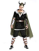Costumes Plus de costumes Halloween Noir / Gris Couleur Pleine Térylène Manteau / Haut / Pantalon / Plus d'accessoires