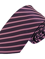 Men Business Wedding Casual Polyester Silk Neck Tie