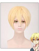 косплей парики желтый короткая длина Japanse аниме новый - анимация mutsuki Hajime Бурь декабря