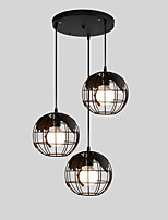 E26/E27 Pendant Light Vintage / Retro / Country for Designers Metal Bedroom / Dining Room / Kitchen / Study