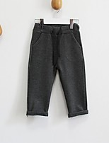 Girl's Casual/Daily Solid PantsCotton Spring / Fall Gray