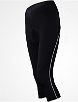 Sports Cycling 3/4 Tights Women's Breathable / Quick Dry / Comfortable Bike 3/4 Tights Coolmax Classic Exercise & Fitness / Cycling/Bike