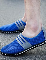 Men's Loafers & Slip-Ons Summer Tulle Casual Flat Heel Others Black Blue Gray Others