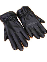 Nerriga Cashmere Gloves Leather Ms.Man Thin Outdoor Motorcycle Riding Gloves Wagon