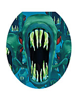 3D Wall Stickers Wall Decals Style Dinosaur Giant Tooth PVC Wall Stickers