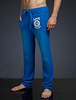 LOVEBANANA® Masculino Activo Calças Azul-38004