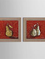 Ручная роспись Абстракция / фантазия / Продукты питания / Цветочные мотивы/ботанический Картины маслом,Modern / Реализм / Европейский