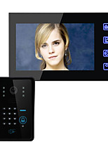 ENNIO SY816AMJIDS11 7 Inch HD Wireless Remote Unlocking Video Intercom Doorbell