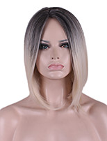 New COS Wig BOBO Short Wig 12 Inch Black Gradient