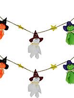 fantasmas festão do dia das bruxas bunting decorações fantasmas parede halloween decoração pendurado em casa