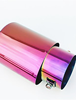Colorful Tailpipe Tail Throat Automobile Modified Stainless Steel Muffler