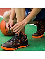 גברים-נעלי אתלטיקה-טול דמוי עורכחול אדום כתום-ספורט-עקב שטוח